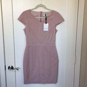 Reiss Pink Sheath Dress Size US 6
